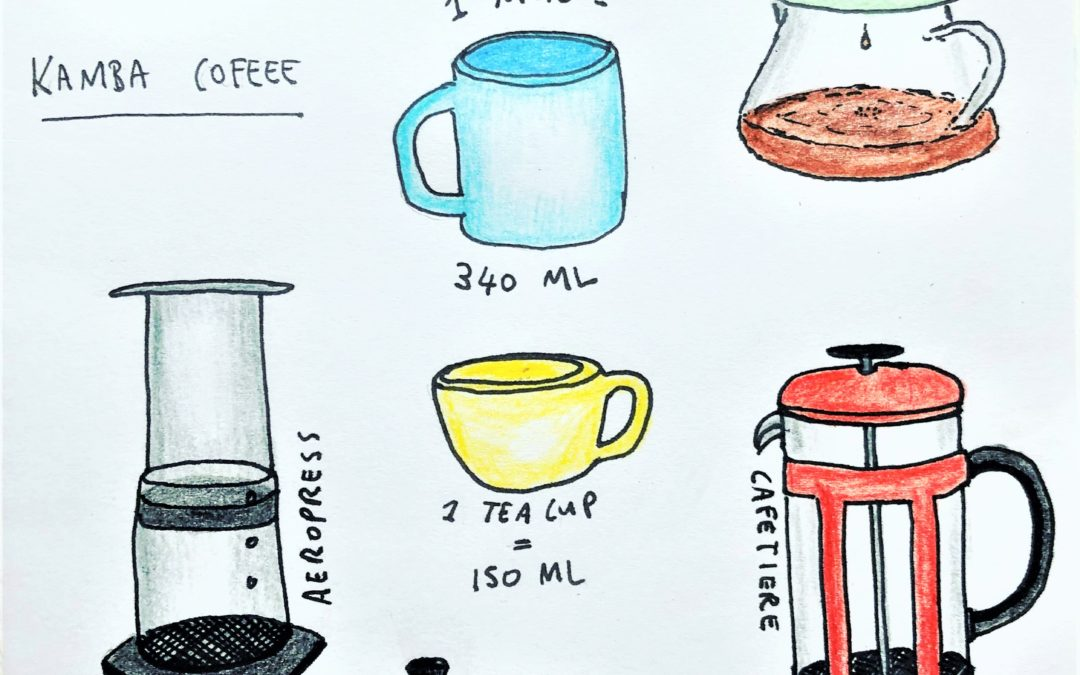 DRINK SPECIALTY COFFEE AT HOME